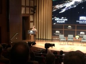 Remarks by Mrs. Laura Bush at the GWBI Forum on North Korea 2016