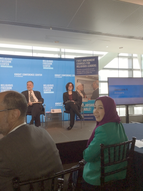"""Dr. Susan Sherr of SSRS on the """"American Muslims at the Crossroads"""" Panel"""