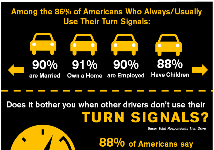 Americans and Turn Signals