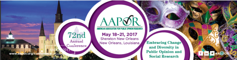 The 72nd Annual AAPOR Conference