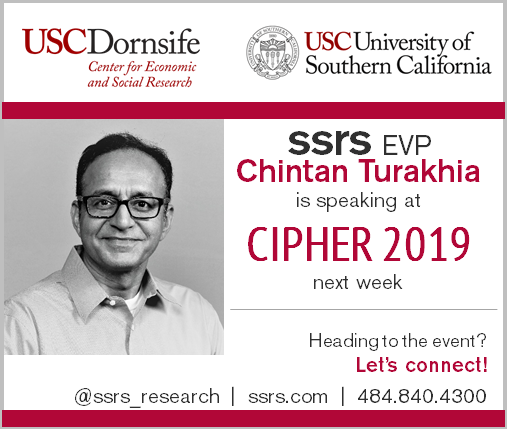 SSRS EVP Chintan Turakhia Speaking at CIPHER
