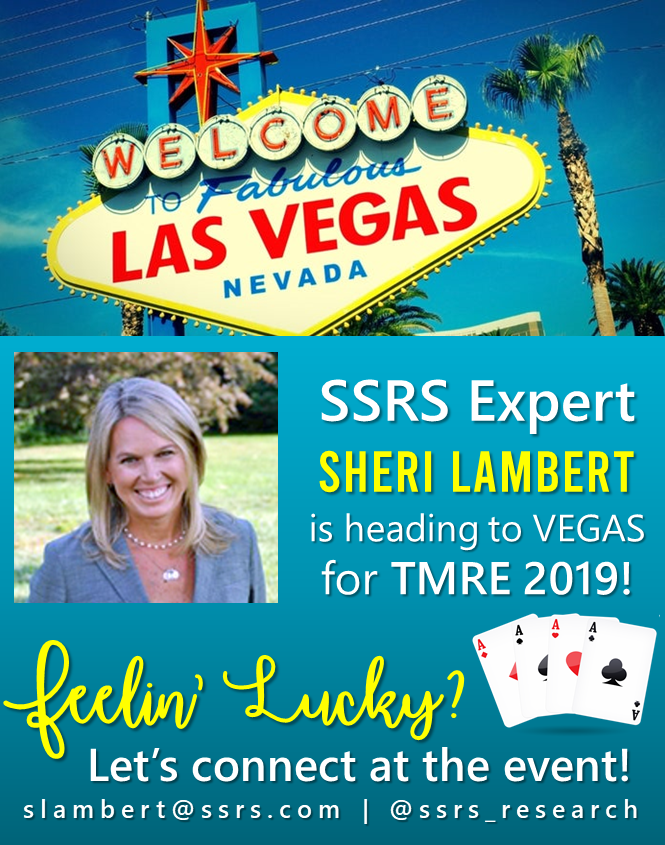 Meet SSRS Expert Sheri Lambert at TMRE 2019