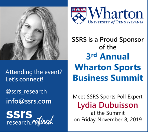SSRS is a Proud Sponsor of the Wharton Sports Business Summit