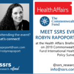 Robyn Rapoport to Attend the Health Affairs Briefing on 2019 Commonwealth Fund International Health Policy Survey
