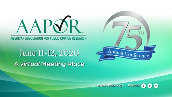 SSRS is a proud sponsor of the 75th Annual AAPOR Conference