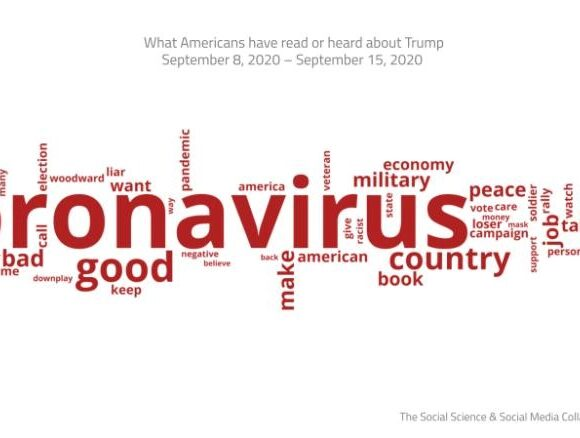 Coronavirus surges back into the campaign with Woodward revelations