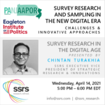 Survey Research And Sampling In The New Digital Era