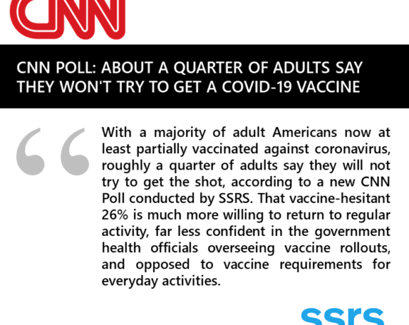 About a quarter of adults say they won't try to get a Covid-19 vaccine