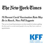 70 Percent Covid Vaccination Rate May Be in Reach, New Poll Suggests