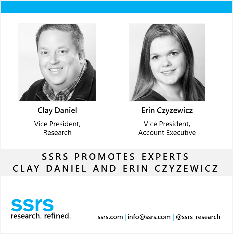 SSRS Announces Promotion of Experts Clay Daniel and Erin Czyzewicz