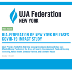 UJA Federation of New York Releases COVID Impact Study