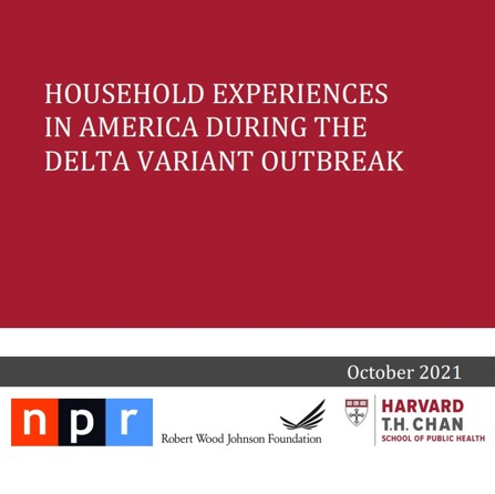 Household experiences in America during the delta variant outbreak